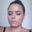 Maquiagem iluminada com batom #metalizado #batommetalizado