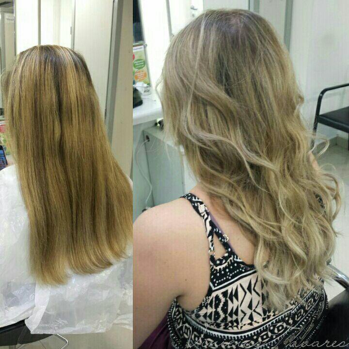 Correção cabelo cabeleireiro(a)
