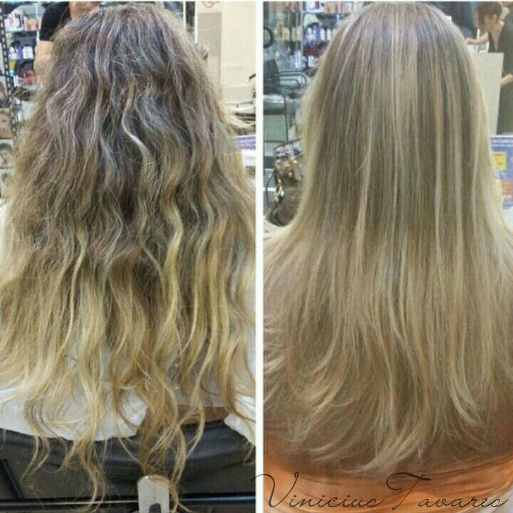 Contrast + Corte cabelo cabeleireiro(a)