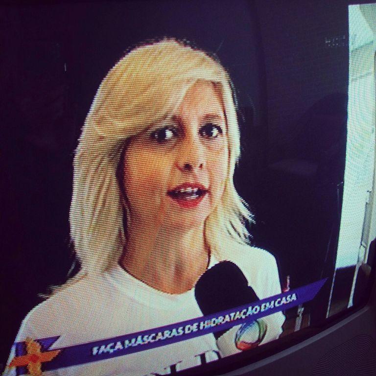 Na ric tv dando dicas  de nutrição  caseira. .. cabeleireiro(a)