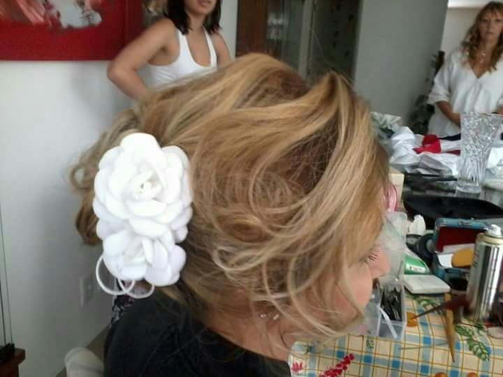 Penteado noiva! cabelo cabeleireiro(a) maquiador(a)