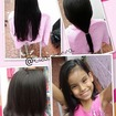 Corte do bem! A princesinha decidiu cortar seu cabelo chanel para doar para o hospital do câncer...