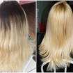 #BlondHair  Corte+Luzes+Progressiva