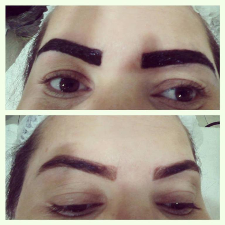Designer sobrancelha com Henna #designer #sobrancelha # hairstyles #lasofistic cabeleireiro(a) designer de sobrancelhas