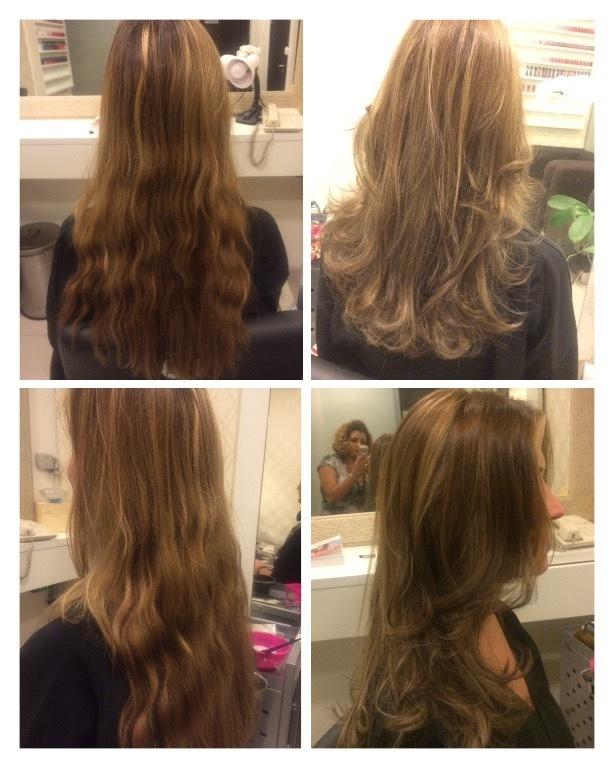 Luzes inversas e correção de cor. cabelo cabeleireiro(a) maquiador(a)