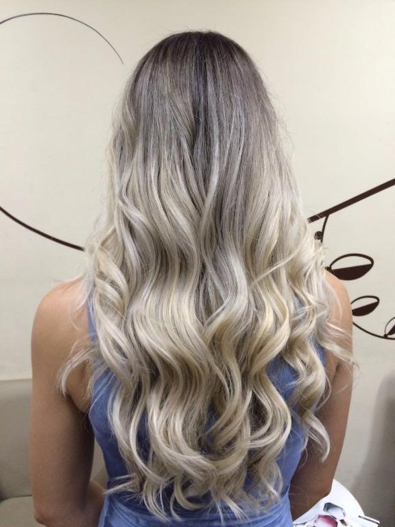 #luzes ombre hair tom Perola cabeleireiro(a) designer de sobrancelhas
