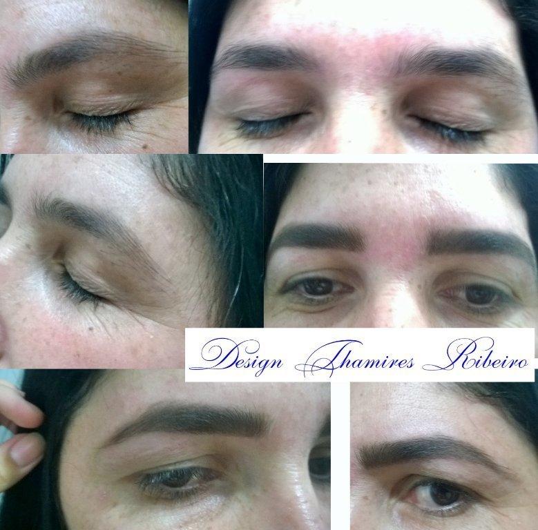 Correção de falhas com #Designer das sobrancelhas e sombra  manicure e pedicure designer de sobrancelhas