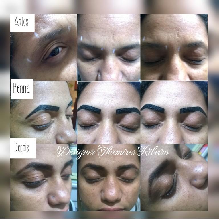 #Henna  #Antes&Depois #clientegostou #Sobrancelhas #Design #thamiresribeiro #linda ♡ manicure e pedicure designer de sobrancelhas