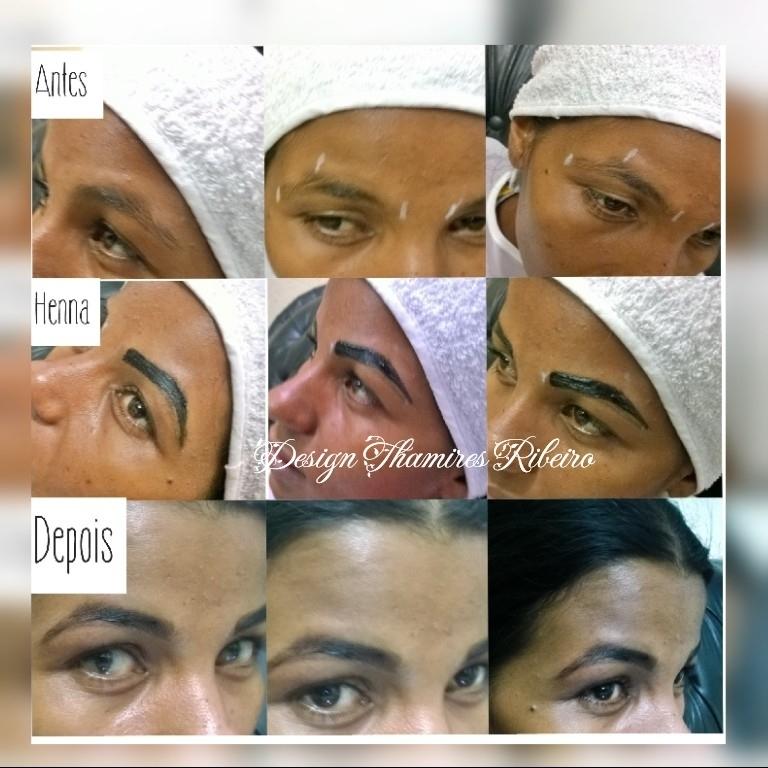 #Antes&Depois #clientegostou #linda #Sobrancelhas #Design #Henna #Feminina #DesignThamiresRibeiro AmomeuTrabalho ♡ manicure e pedicure designer de sobrancelhas