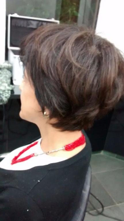 Curto e moderno #haircut cabeleireiro(a)