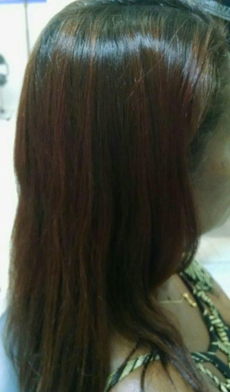 Antes. cabelo cabeleireiro(a) auxiliar cabeleireiro(a)