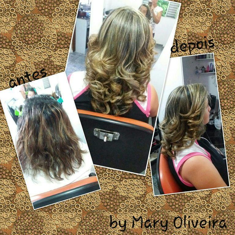 Luzes, técnica tradicional... produtos Grandha. cabelo cabeleireiro(a)