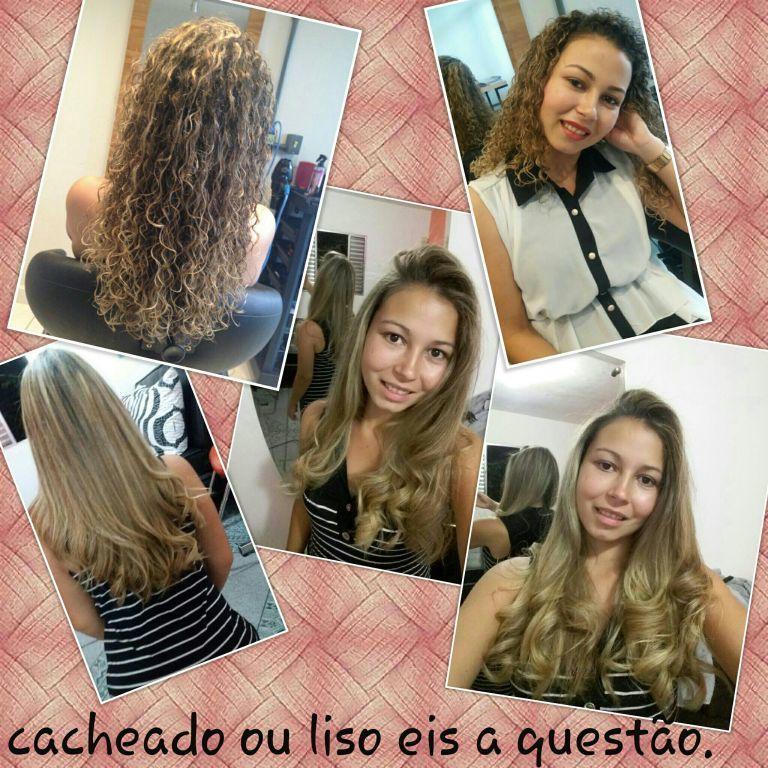 Cacheado ou liso? Eis a questão. .. cabeleireiro(a)