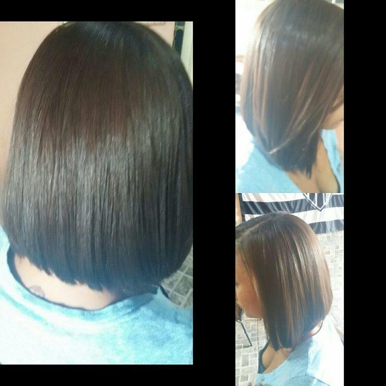 Escova Redutora e corte! cabelo cabeleireiro(a)