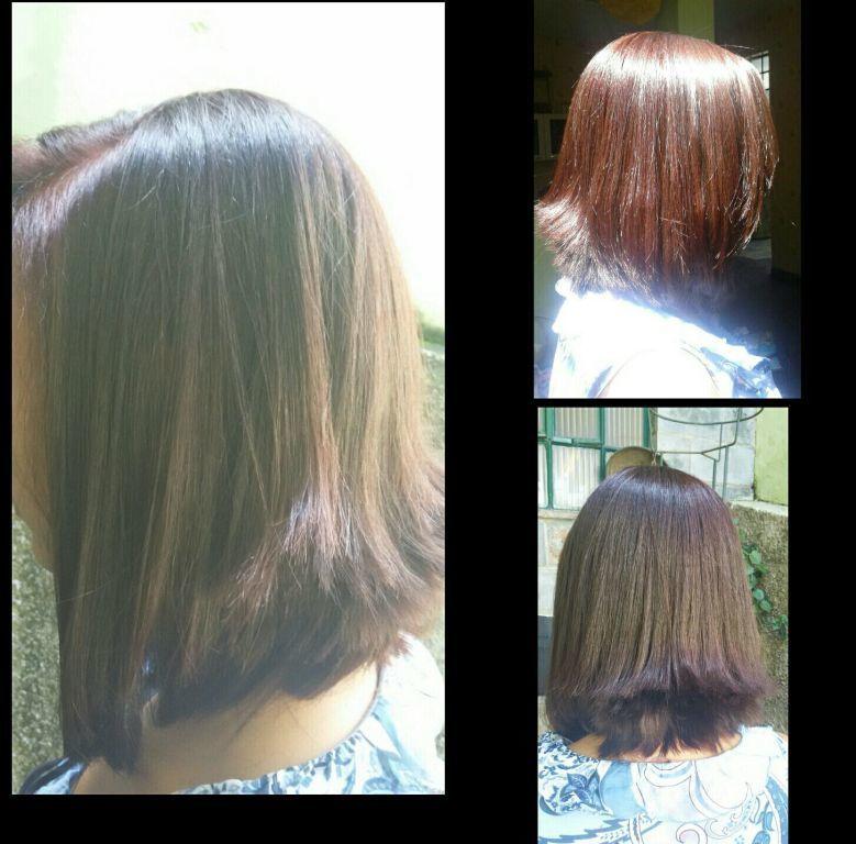 Coloração e corte! cabelo cabeleireiro(a)
