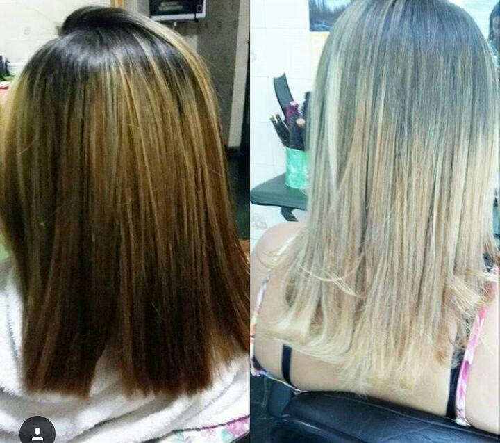 Correção de cor! cabelo cabeleireiro(a)