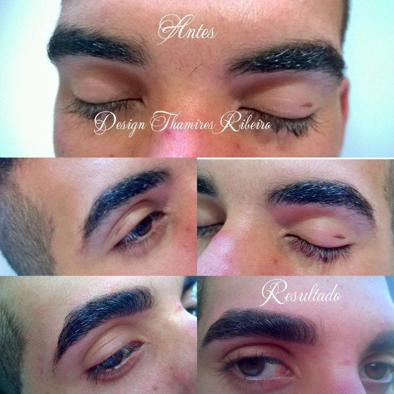 #Sobrancelhas #masculina #Design #Antes&Depois #resultado #clienteamou #lindo #natural  #henna Amo meu trabalho  ♡ estética manicure e pedicure designer de sobrancelhas