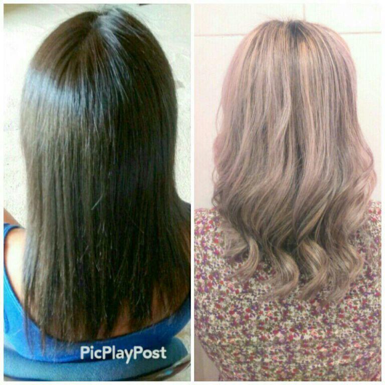 Luzes perolada cabeleireiro(a)