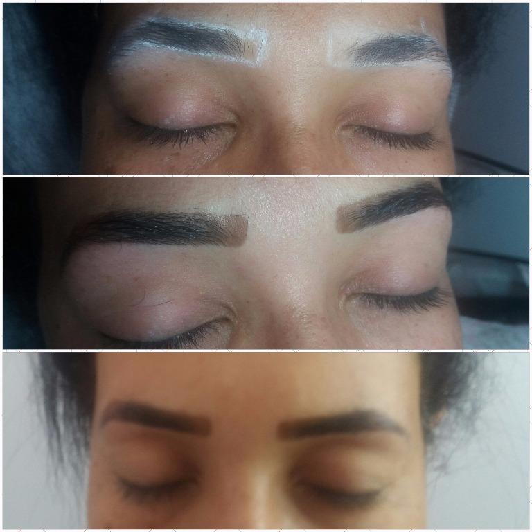 Designer de Sobrancelha com aplicação de Henna depilador(a) designer de sobrancelhas escovista esteticista manicure e pedicure massagista vendedor(a)