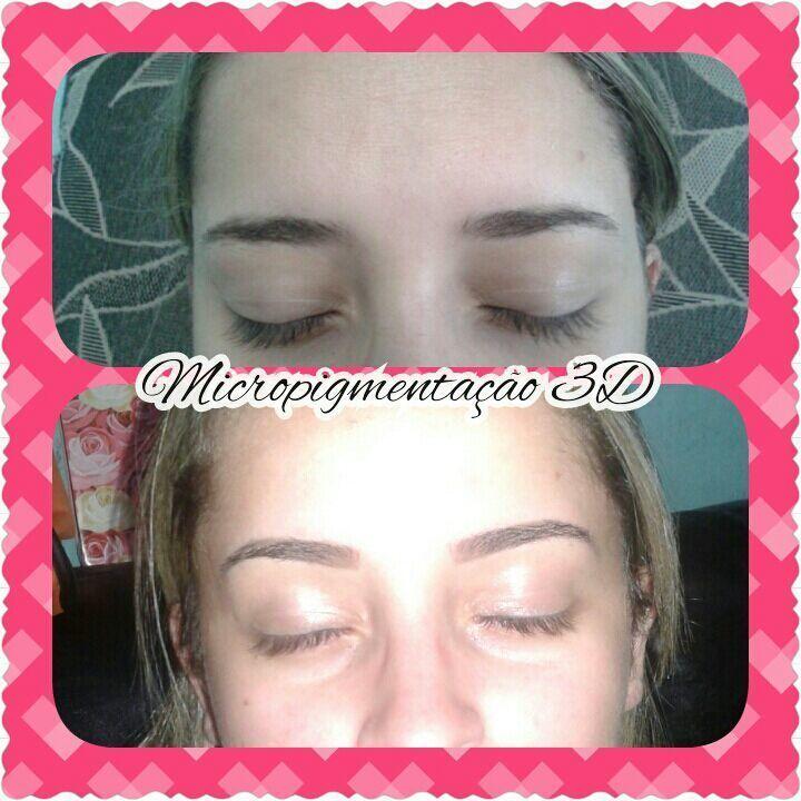 Micropigmentação 3D outros maquiagem micropigmentador(a) designer de sobrancelhas depilador(a)