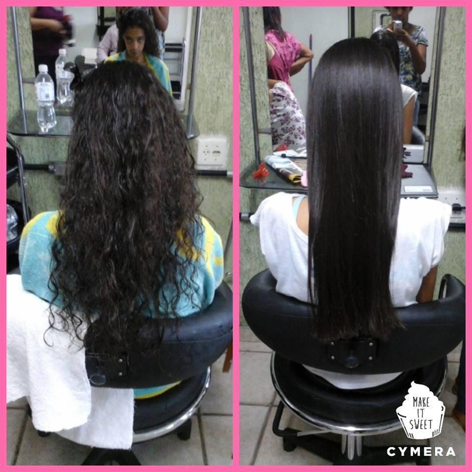 Escova Progressiva em cabelos cacheados. cabelo auxiliar cabeleireiro(a) revendedor(a) vendedor(a) atendente