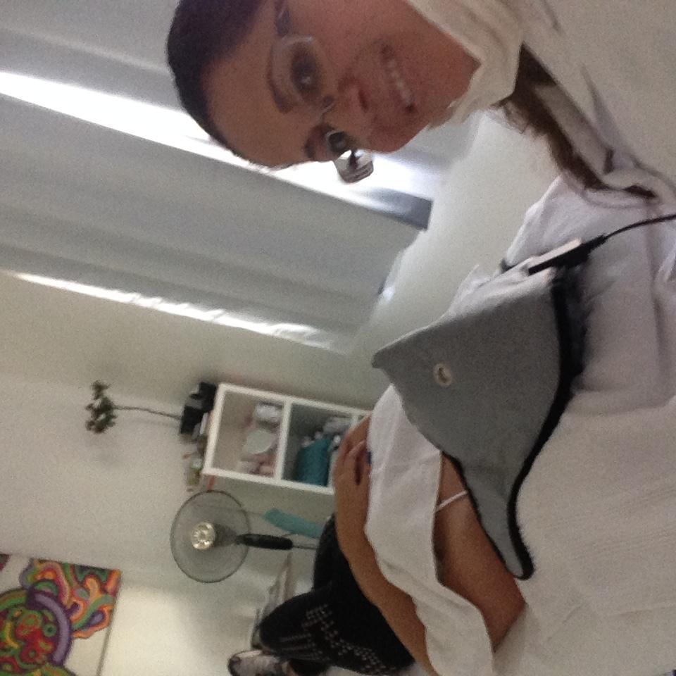 #Atendimento vip, realizando limpeza de pele. estética esteticista designer de sobrancelhas