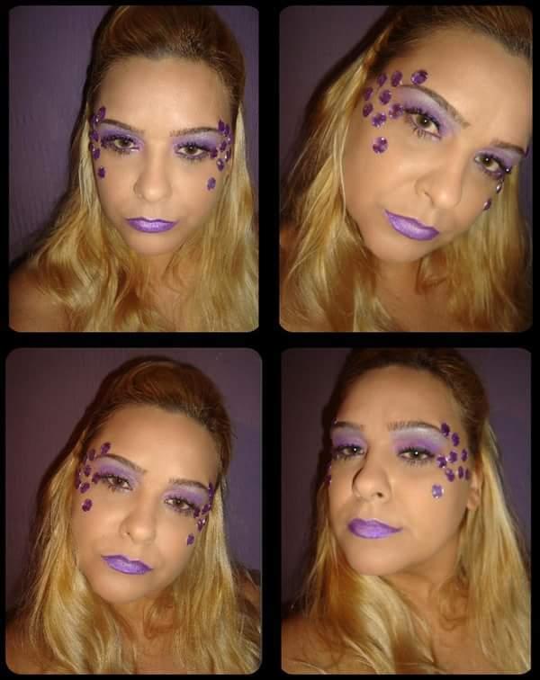 Artística com pedras  maquiador(a)