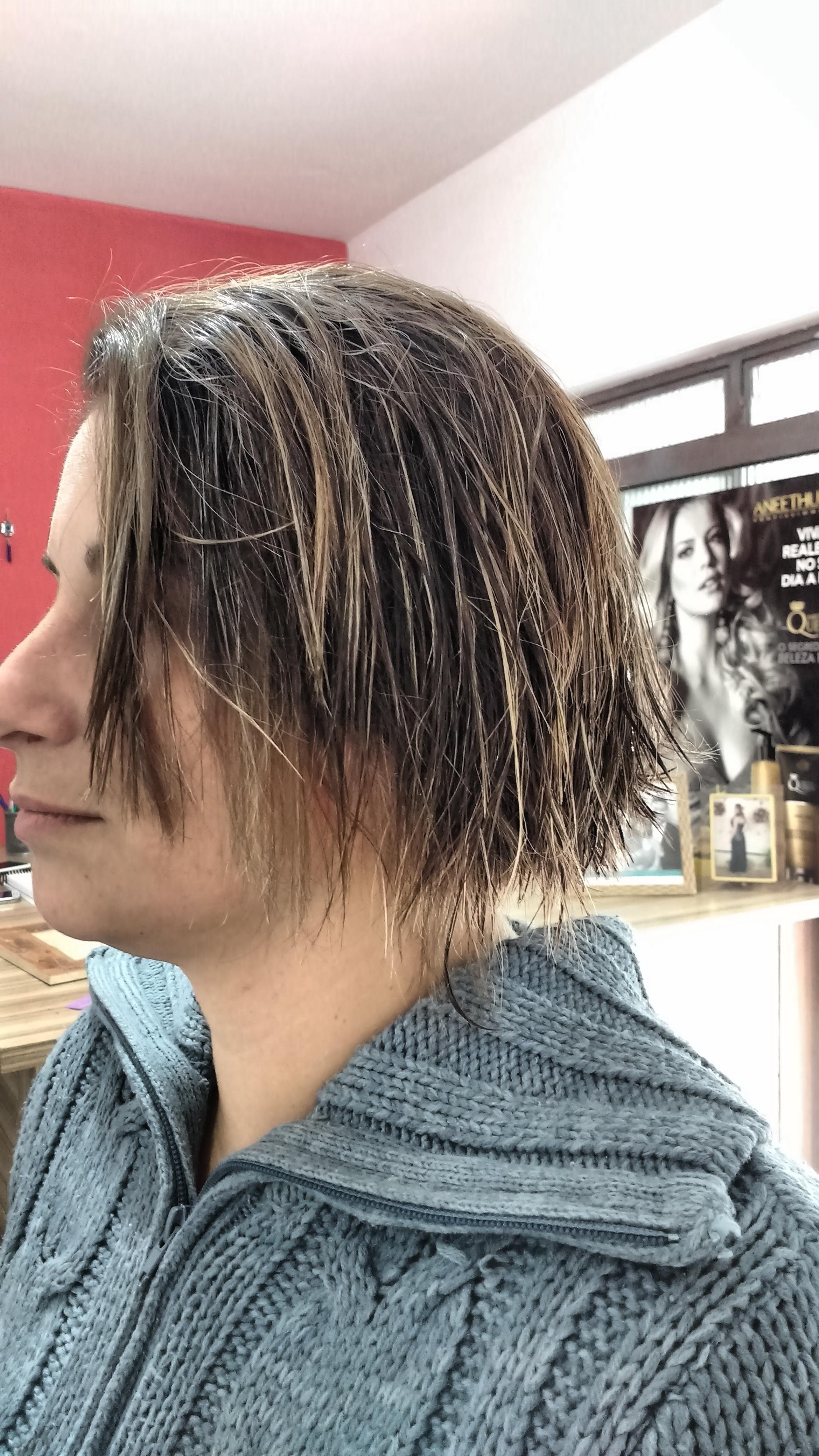 Corte cabelo cabeleireiro(a)