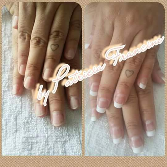 Alongamento em gel unha manicure e pedicure