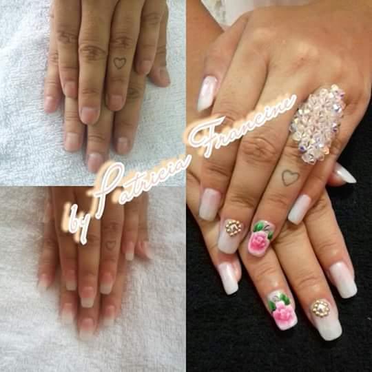 Amu o que faço unha manicure e pedicure