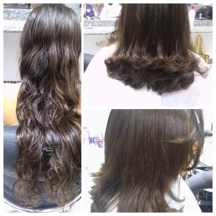 Corte. cabelo auxiliar cabeleireiro(a)