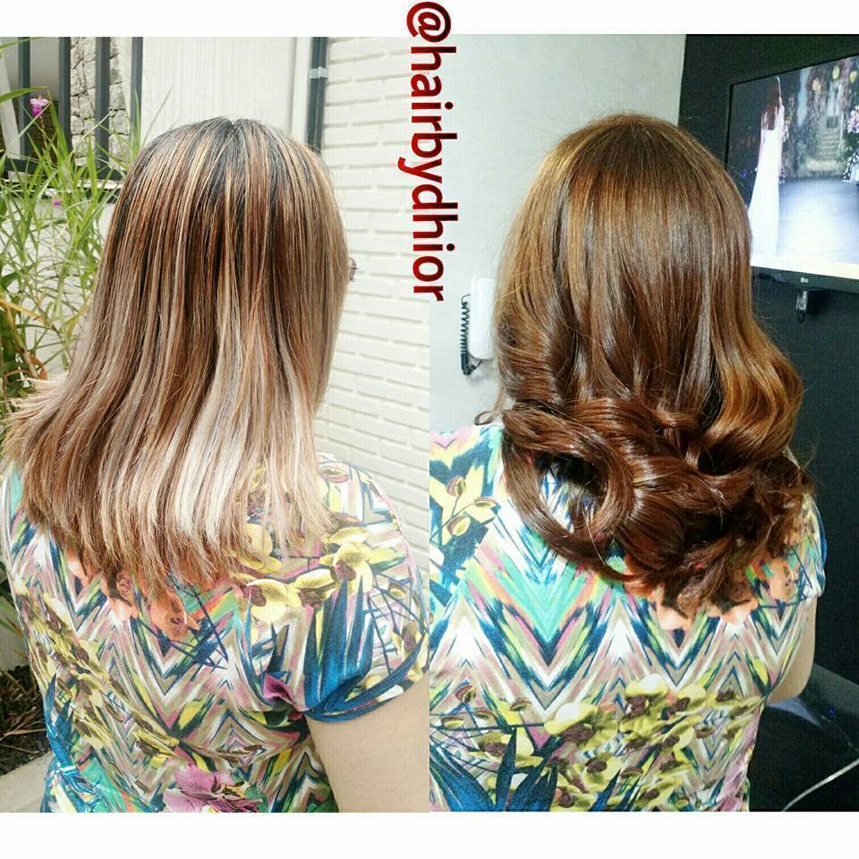 Ruivo  cabelo cabeleireiro(a)