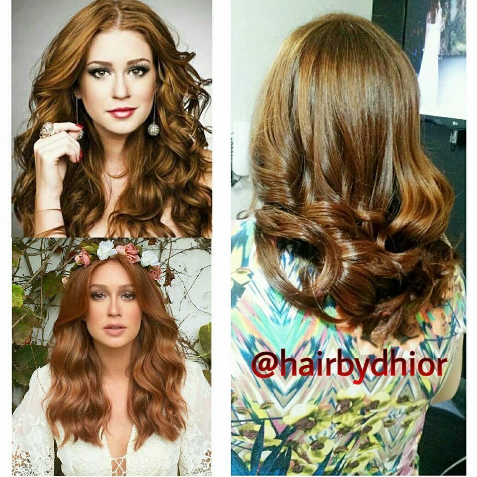 Referência de Ruivo feito na Cliente cabelo cabeleireiro(a)