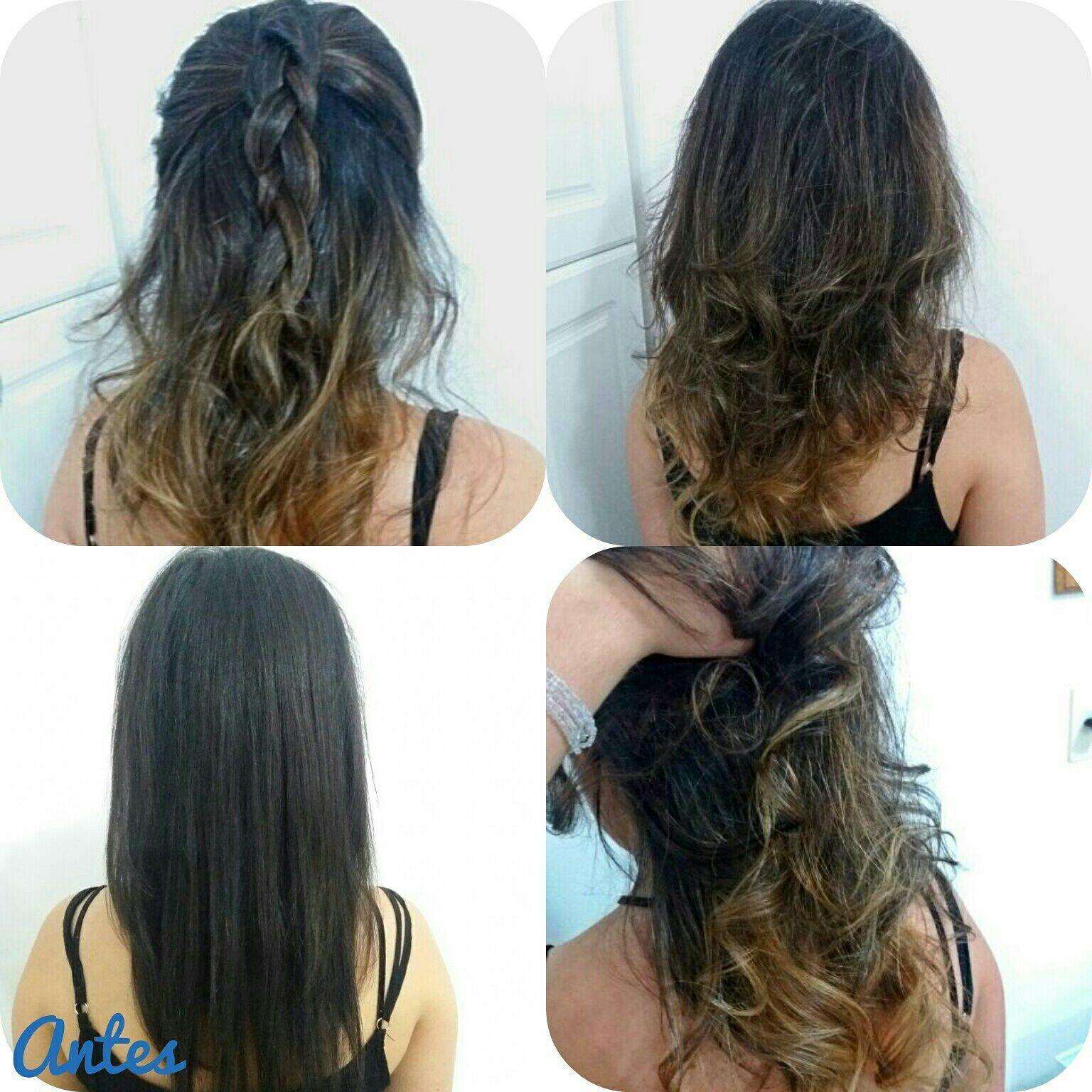 Ombrée hair cabelo maquiador(a) auxiliar cabeleireiro(a) stylist / visagista