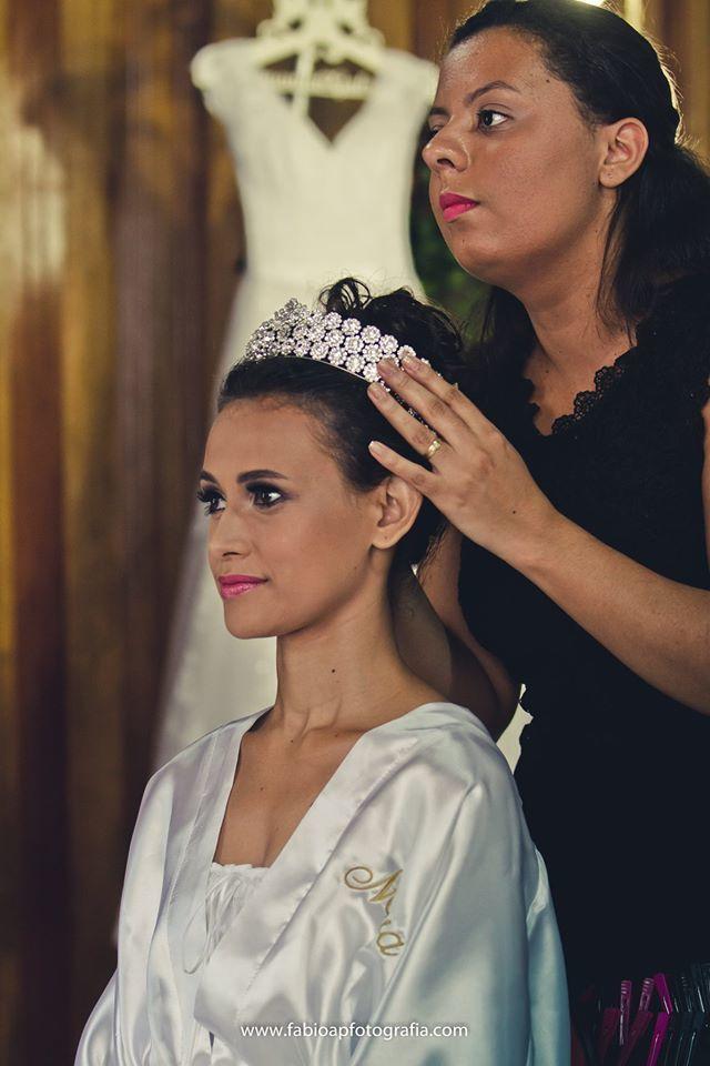 Noiva Amanda maquiagem maquiador(a)