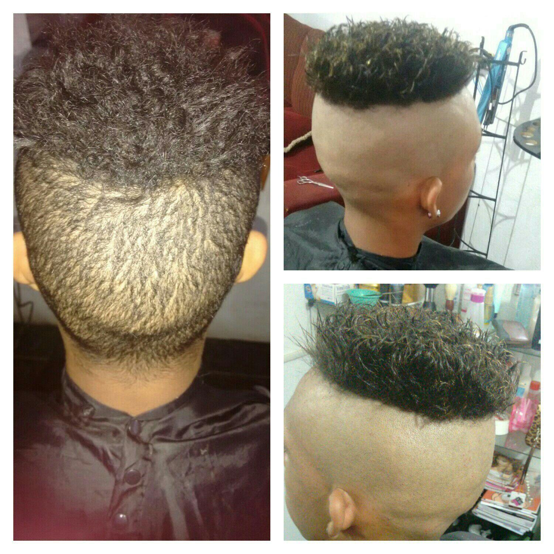 Corte colombiano cabeleireiro(a) barbeiro(a) designer de sobrancelhas manicure e pedicure