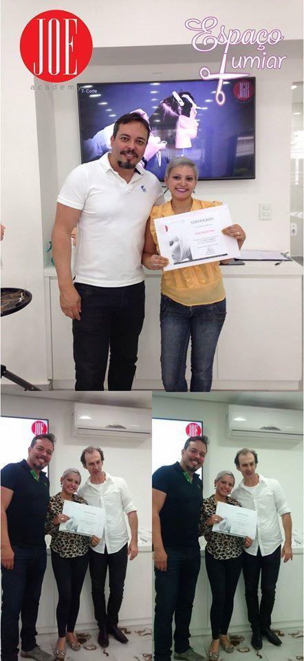 Curso de cortes internacionais em Joe Academy! cabelo cabeleireiro(a)