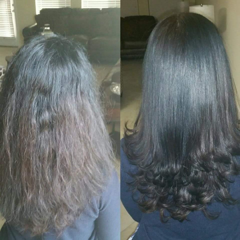 Progresiva e corte  cabelo manicure e pedicure designer de sobrancelhas maquiador(a) cabeleireiro(a)