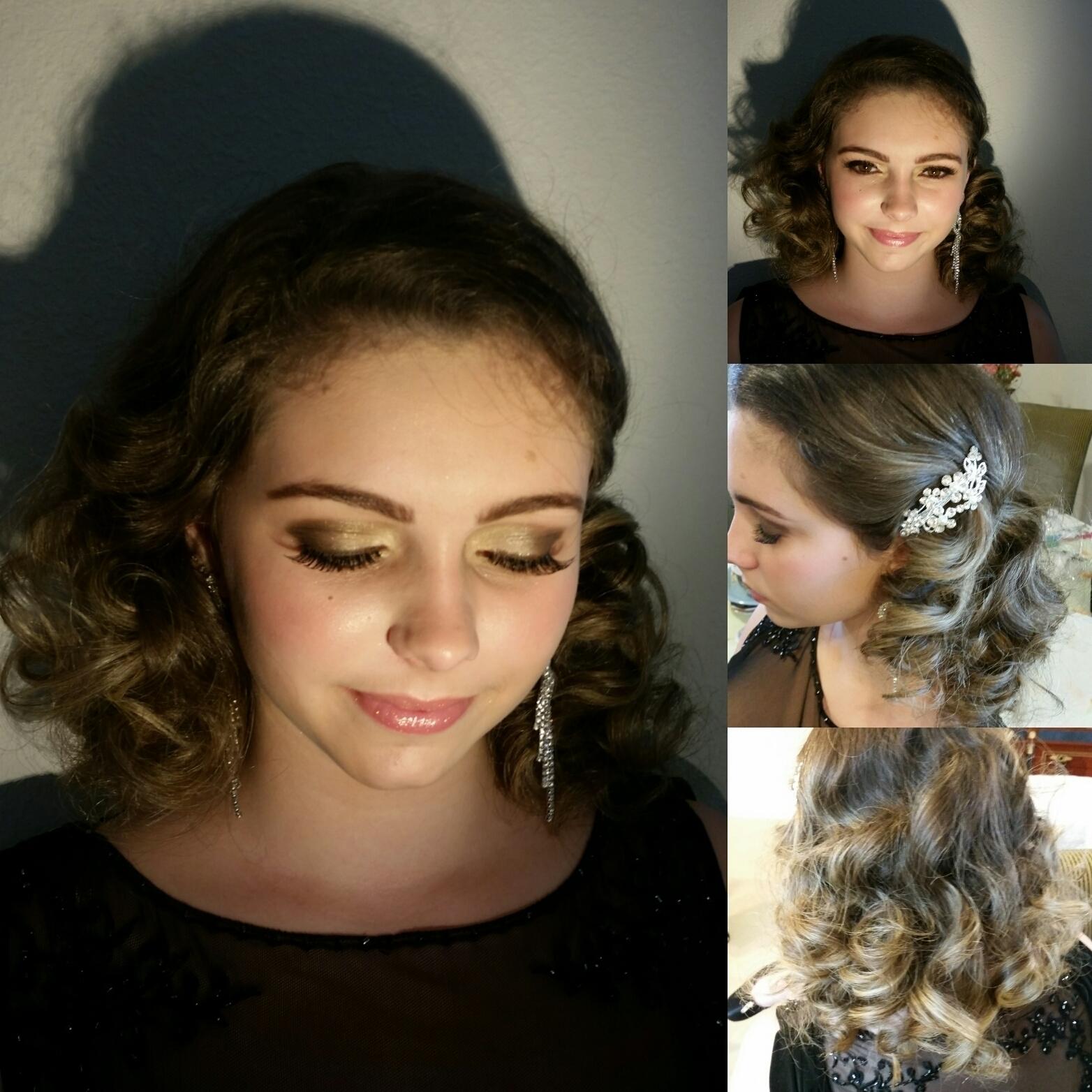 Penteado e Maquiagem maquiagem manicure e pedicure designer de sobrancelhas maquiador(a) cabeleireiro(a)
