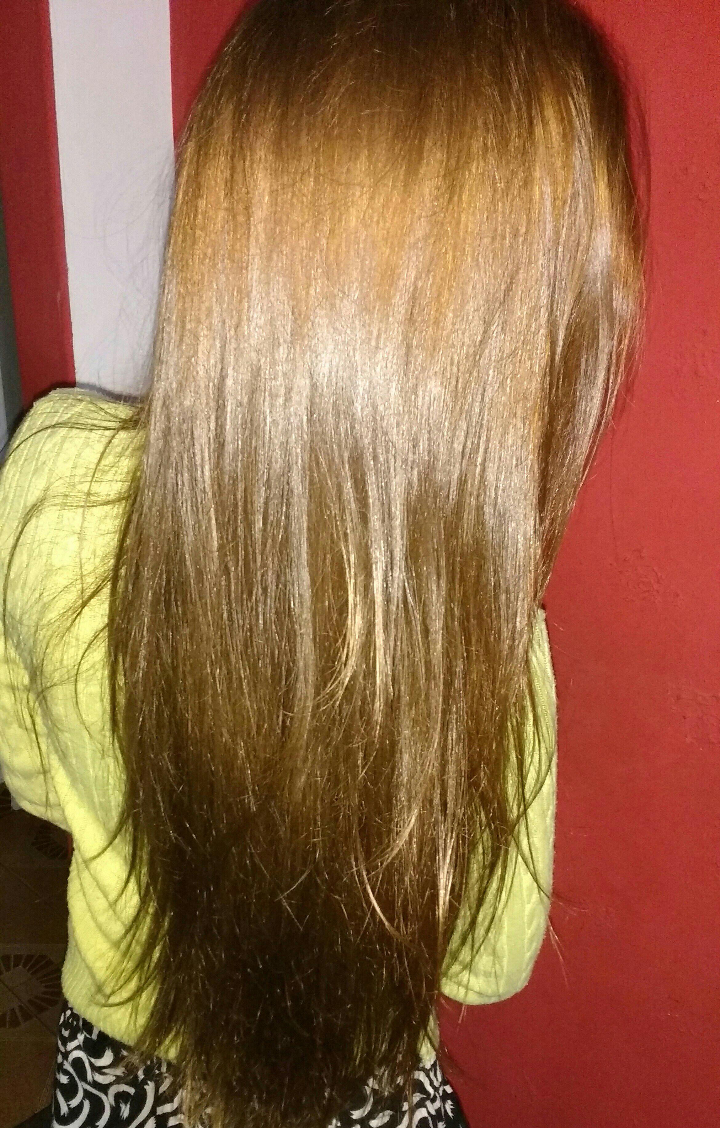 Coloração em tom acobreado cabelo cabeleireiro(a)