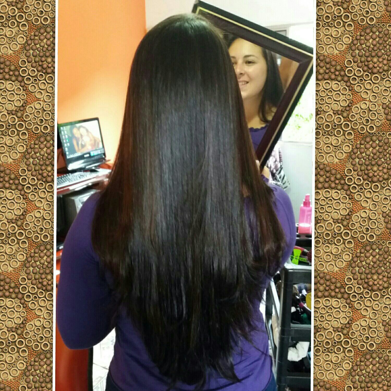 Botox de tratamento. cabelo cabeleireiro(a)