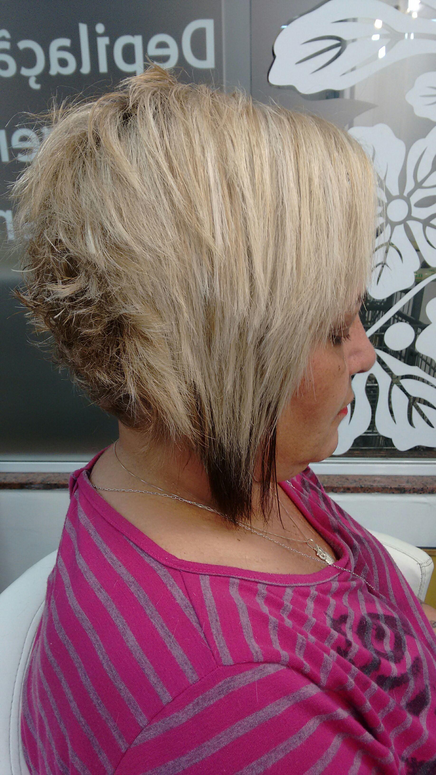 Corte desconectado cabelo cabeleireiro(a)
