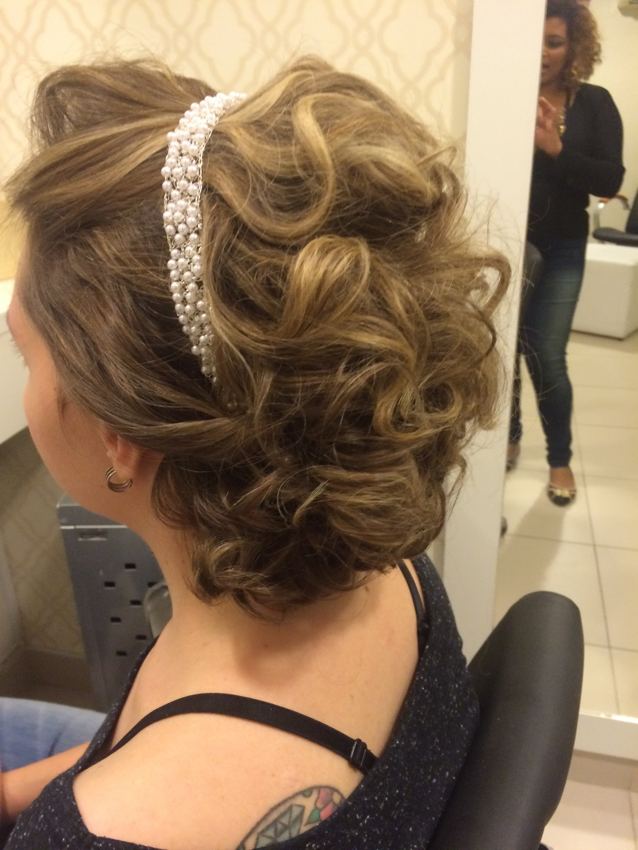 Teste de noiva.  cabelo cabeleireiro(a) maquiador(a)