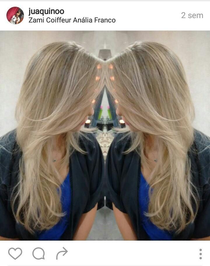 Loiro dos sonhos #byjuaquino cabelo cabeleireiro(a)