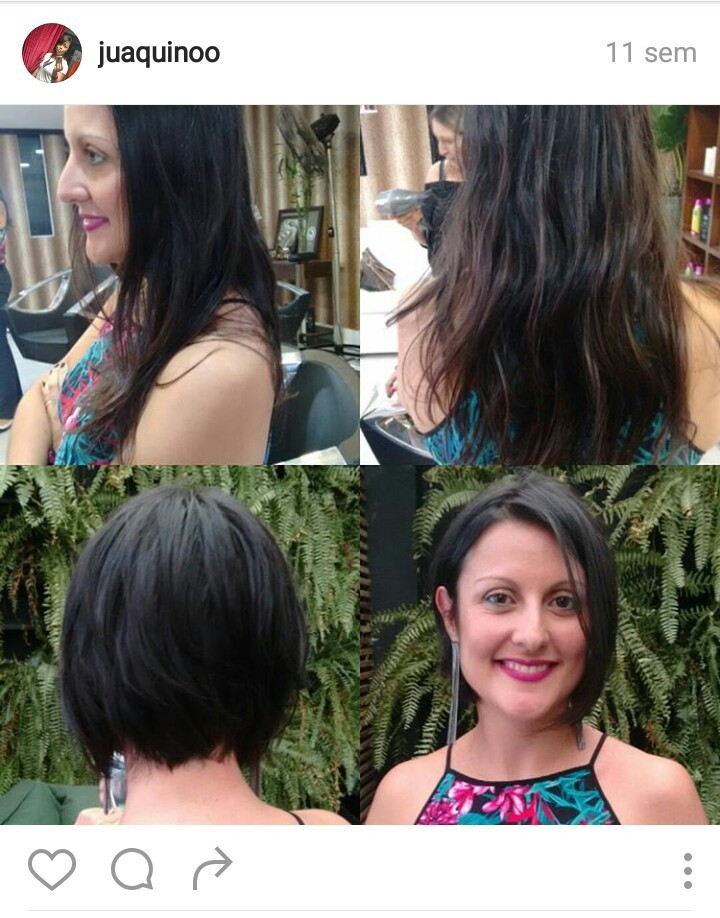 Da série curtinhos luxo Pq elas querem arrasar!!  #tendencia #cortes #curtos #byjuaquino cabelo cabeleireiro(a)