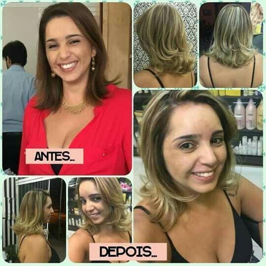 Luzes e corte cabelo auxiliar cabeleireiro(a) auxiliar cabeleireiro(a) cabeleireiro(a)