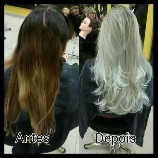 Correção de cor .. Platinado !! cabelo auxiliar cabeleireiro(a) auxiliar cabeleireiro(a) cabeleireiro(a)