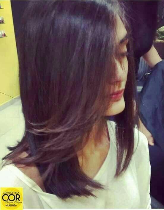 Corte long bob cabelo auxiliar cabeleireiro(a) auxiliar cabeleireiro(a) cabeleireiro(a)