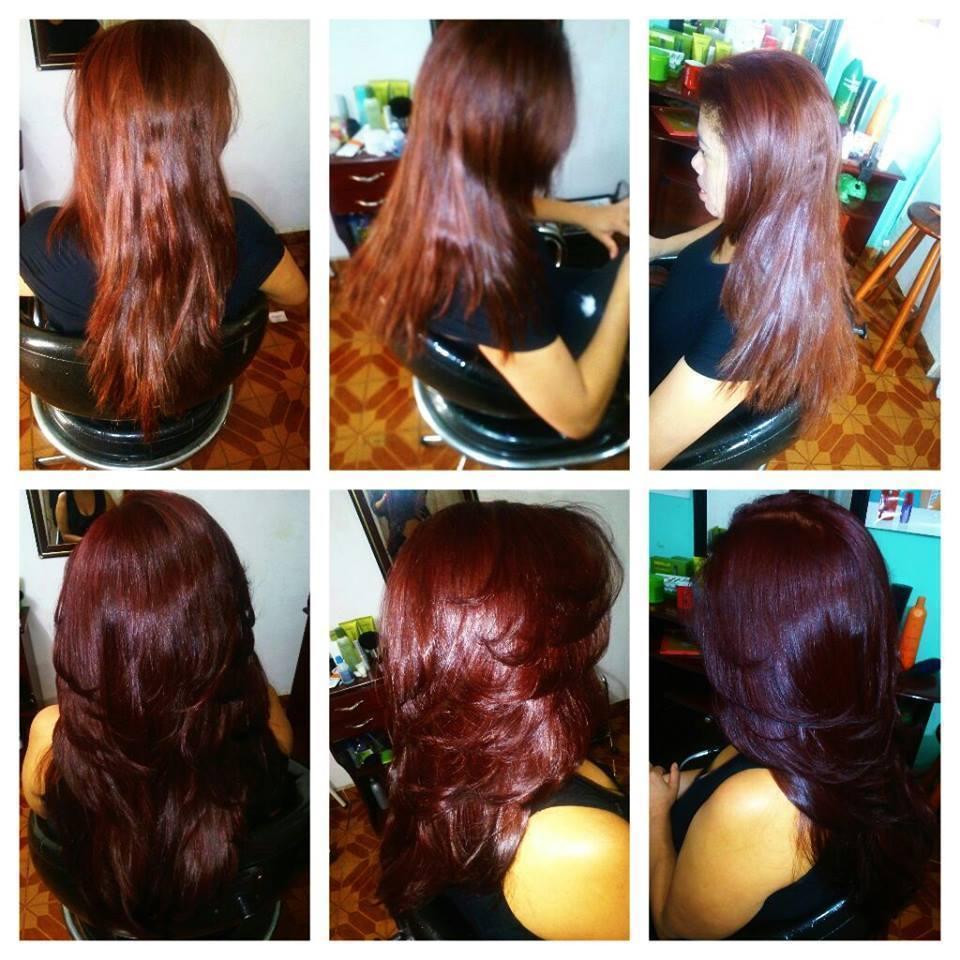 cor e escova cabelo auxiliar cabeleireiro(a) cabeleireiro(a)