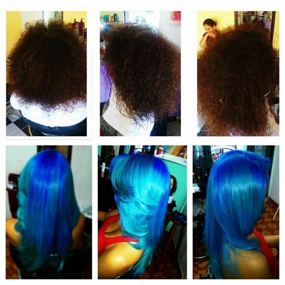colorimetria, corte, tratamento e escova  cabelo auxiliar cabeleireiro(a) cabeleireiro(a)